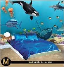 Pin By Sam S Taylor On Home Decor Ideas Ocean Themed Bedroom Ocean Room Ocean Mural