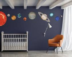 Space Wall Decal Etsy