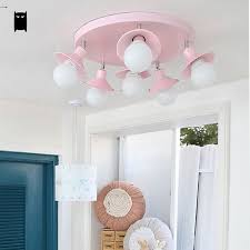 pink ceiling light fixture modern