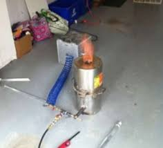 homemade steel pot foundry