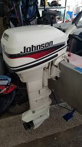 johnson 15 hp outboard motor