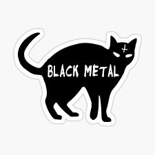 Mobel Wohnen Black Cat Vinyl Decal Goth Metal Punk American Traditional Tattoo Satan Lucifer Maybrands Com Ng