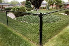 Black Coated Chain Link Fence Black Chain Link Fence Painted Chain Link Fence Fence