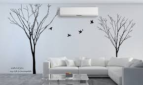 Gemini Tree Branch Removable Wall Art Stickers Mural Vinyl Decal Diy Large Tree Wall Stickers Home Decor Living Room D818 Decoration Living Room Home Decor Living Roomstickers Home Decor Aliexpress
