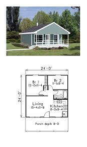 cabin style house plan 85939 with 2 bed