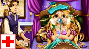 Chị Bí Đỏ giúp Hoàng Tử Flynn chữa bệnh cho Công Chúa Tóc Mây ...