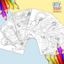 Mô hình giấy Tranh tô màu Naruto TTM-0003 - Kit168.vn Shop Online ...