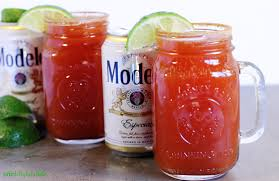 michelada with lime one delightful life