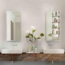 electric mirror medicine cabinet