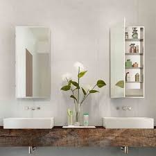 electric mirror medicine cabinet