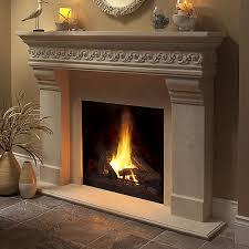 warwick classic stone fireplace mantel