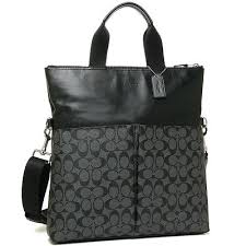 coach leather bag mens s travel
