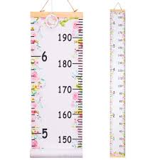 Amazon Com Qtgirl Kids Growth Chart Height Chart For Child Height Measurement Wall Hanging Rulers Room Decoration For Girls Boys Toddlers Flower Baby