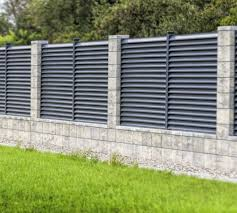 Modular Fence System Roma Classic Concrete Fences Producer Of Fences Posts Blocks And Hollow Bricks Fence Wall Design Concrete Fence Modern Fence Design