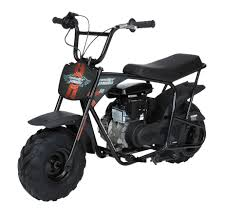 Monster Moto Classic Gas Powered Mini Bike Black With Pink And Red Decals Walmart Com Walmart Com