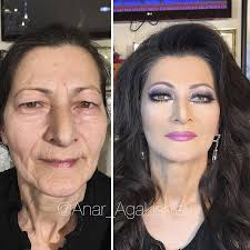 to make someone look older using makeup