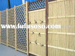 Plastic Bamboo Fence Panels For Sale Price China Manufacturer Supplier 31765