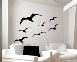 Seagull Wall Decal Bird Decal Flying Bird Wall Sticker Ocean Etsy Vinyl Wall Decals Bedroom Wall Decals For Bedroom Bedroom Decals