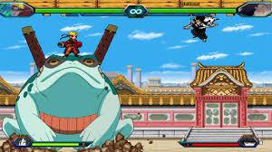 Naruto Sage VS Zaraki Kenpachi - Bleach Vs Naruto 3.4 (Modded)