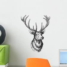 Deer Wall Decal Wallmonkeys Com