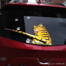 2020 Amazing Rear Window Decal 3d Transparent Cat Animal Horror Monsters Marvel Car Stickers Rear Windshield Wiper Removable Sticker W From Bestfriendly 482 42 Dhgate Com