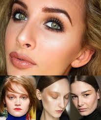 smokey brown eye makeup trends fall