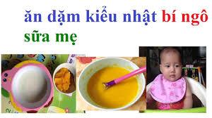 ăn dặm kiểu nhật: ăn dặm cho trẻ 5 tháng 2 tuần 5 ngày món súp bí ...