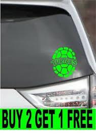Teenage Mutant Ninja Turtles Vinyl Decal Sticker 4 Size 12 Color Ebay