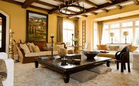 decorate a large square coffee table