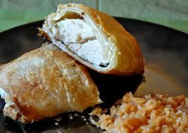 cream cheese stuffed puff pastry