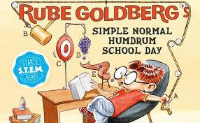 """Rube Goldberg: The World of Hilarious Invention!"""", September 28 through  January 5 