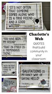 seven great activities for charlotte s web where the magic happens