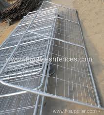 Galvanized Welded Wire And Tube Farm Fence Gate From China Manufacturer Haotian Hardware Wire Mesh Products Co Ltd