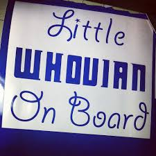 Whovian On Board Doctor Who Car Decal Sticker By Turbonerd 5 00 Doctor Who Nursery Doctor Who Baby Shower Doctor Who Baby