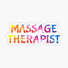 Massage Therapy Stickers Redbubble