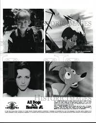 1996 Press Photo Adam Wylie & Bebe Neuwirth in All Dogs Go To Heaven 2    Historic Images