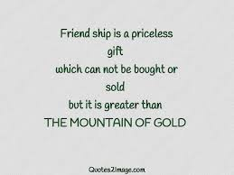 friend ship is a priceless friendship quotes image