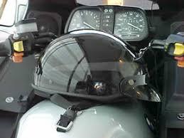 Appliedgraphics Reflective Black Helmet Stickers Or Reflective Decals On A Harley Davidson Half Helmet