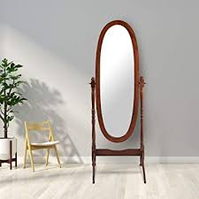 giantex bedroom wooden floor mirror