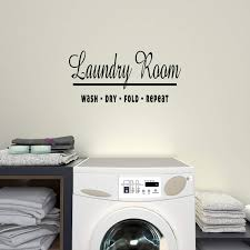 Amazon Com Empresal Laundry Room Decor Wall Decals Sign Room Decal Art Home Sticker Kitchen Dining