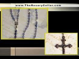 homemade rosary and chaplet italian