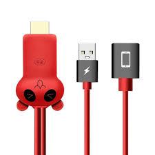 1080P MHL Micro USB MHL TO HDMI Cáp cho Samsung S7/S8 Plus cho Iphone X 8  chuẩn Cắm Chuyển Đổi|