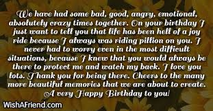 we have had some bad good birthday wishes for brother