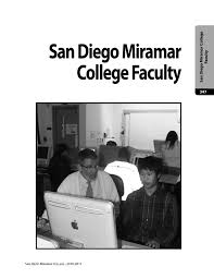 San Diego Miramar College Faculty