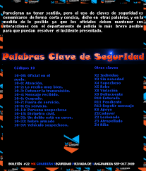 PALABRAS CLAVE DE SEGURIDAD -