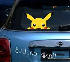 Pokemon Pikachu Window Car Decal Sticker Home Decor