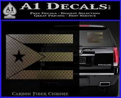Puerto Rico Flag Vinyl Decal Sticker A1 Decals
