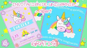 Invitacion De Unicornio Cliparts Gratis Amagi Planet