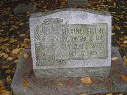 Maxine Lucile Smith (1925-1925) - Find A Grave Memorial