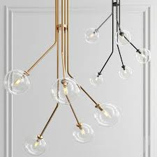 orion 5 pendant light concrete lamp